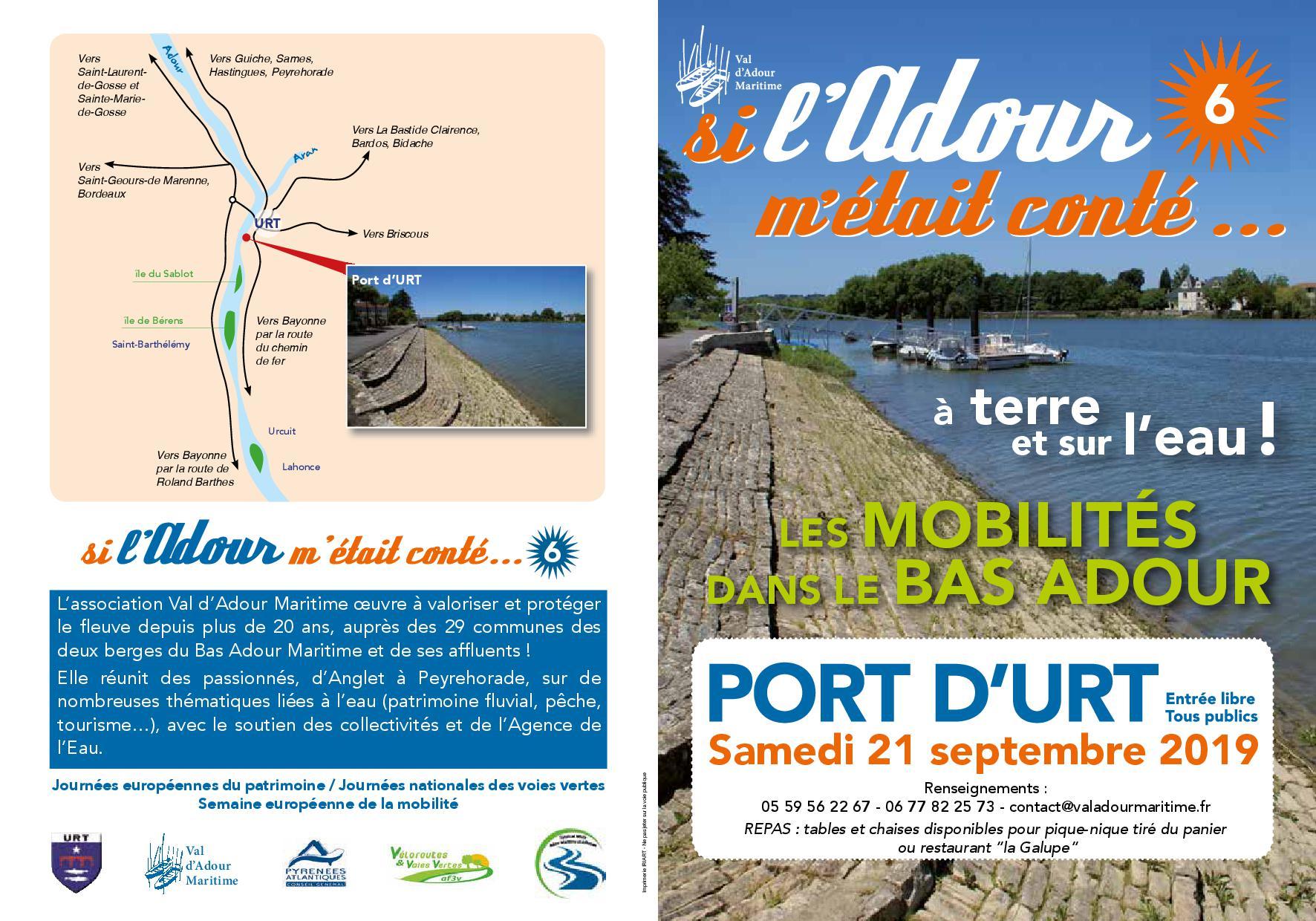 VALDADOUR MARITIME - Programme journée des voies vertes - recto