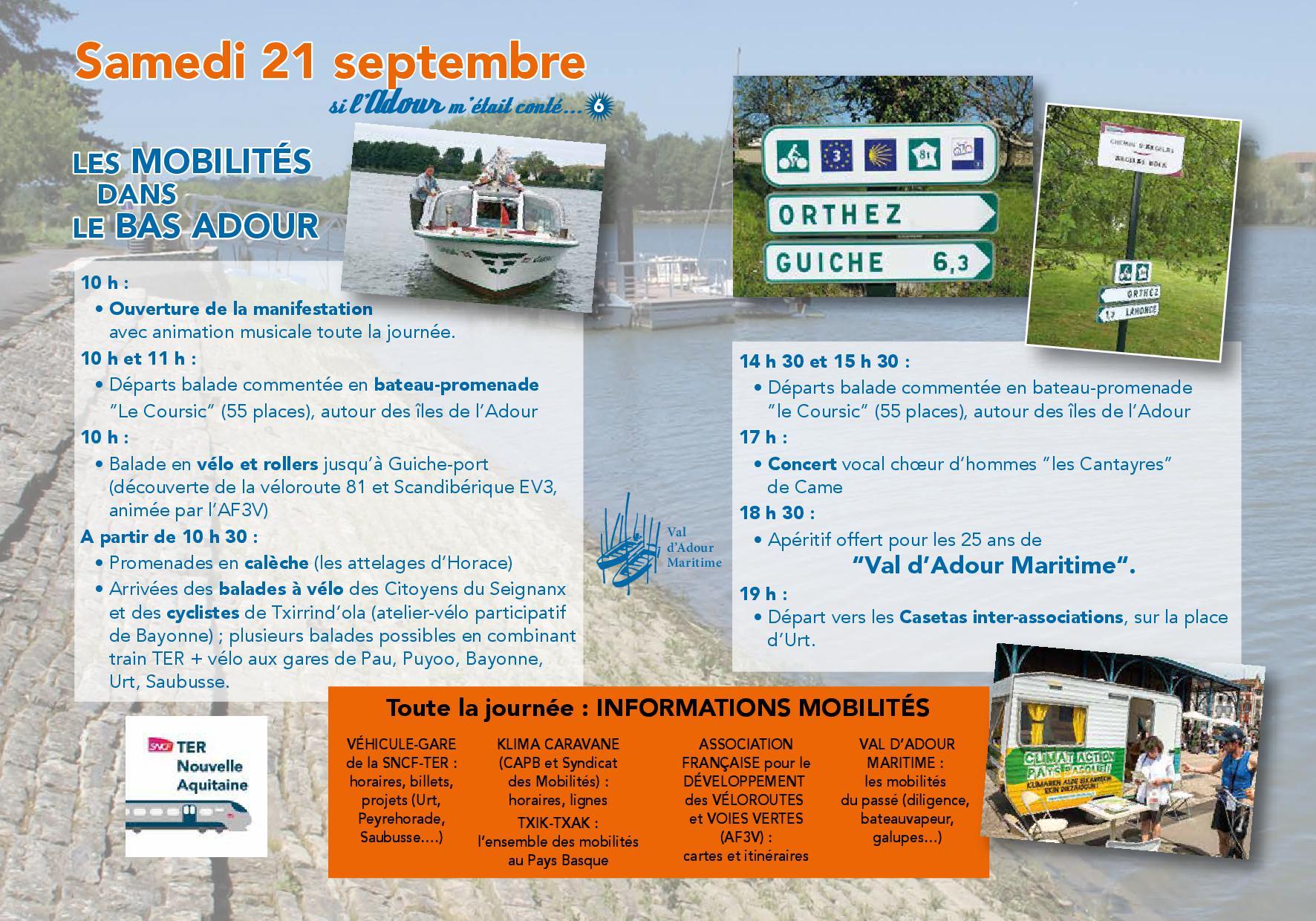 VALDADOUR MARITIME - Programme journée des voies vertes